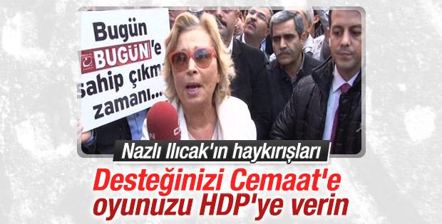 Nazlı Ilıcak'tan Bugün ve Kanaltürk'e destek