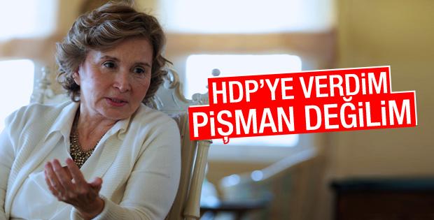 Nazlı Ilıcak: Oyumu HDP'ye verdim