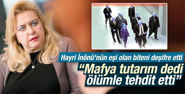 Nazlı İnönü: Mustafa Sarıgül bizi tehdit etti