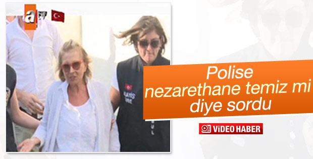 Nazlı Ilıcak'tan polislere: Nezarethaneleriniz temiz mi