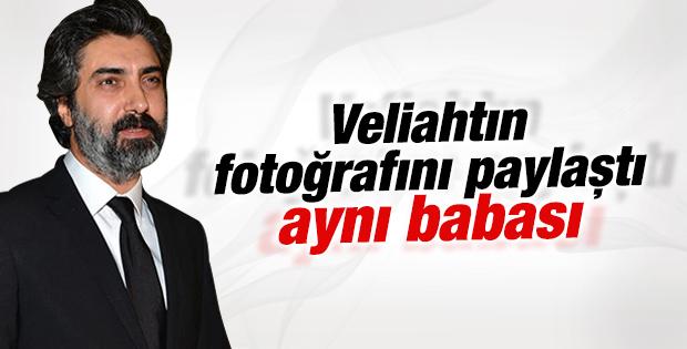 Necati Şaşmaz oğlunun fotoğrafını paylaştı