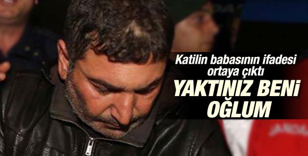 Özgecan'ın katili Suphi Altındöken'in babasının ifadesi