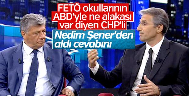 Nedim Şener'den CHP'li Mustafa Balbay'a FETÖ dersi