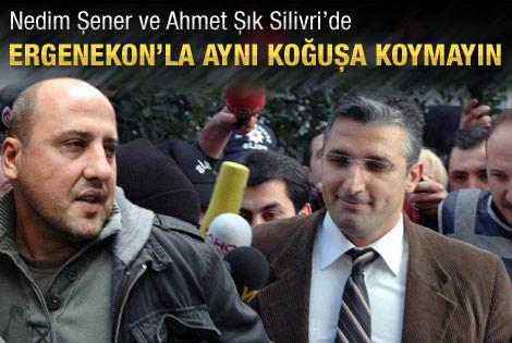 Nedim Şener ve Ahmet Şık Silivri'de