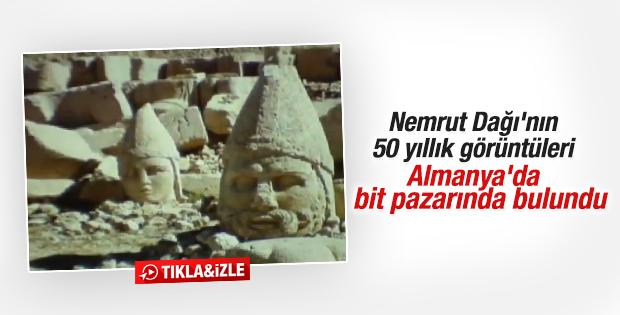 Nemrut Dağı'nın 50 yıl önceki görüntüleri ortaya çıktı