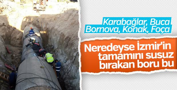 İzmir'de su sorununun nedeni