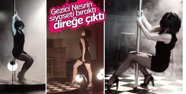 Nesrin Cavadzade'den seksi dans