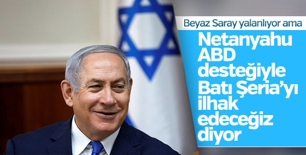 İsrail: Batı Şeria'nın ilhakı için ABD ile görüştük