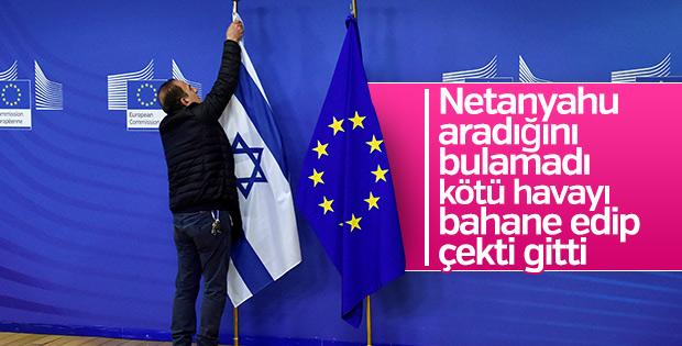 Netanyahu Avrupa'dan eli boş döndü