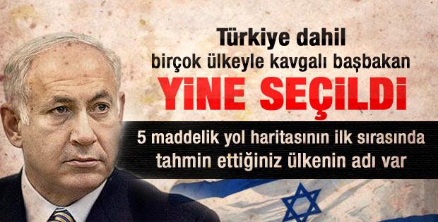 Netanyahu'nun seçim konuşması