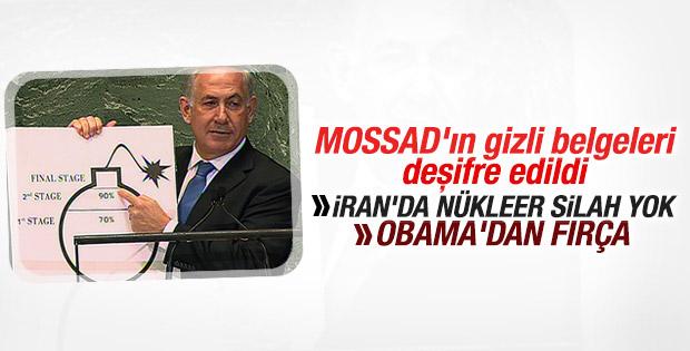 Sızdırılan Mossad dosyaları Netanyahu'yu yalanladı