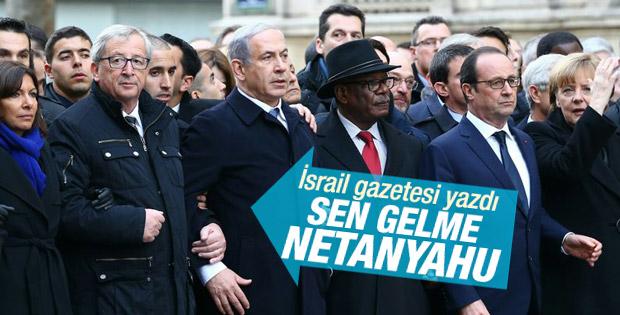 Hollande'den Netanyahu'ya Paris uyarısı