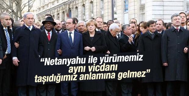 Ahmet Davutoğlu: Netanyahu insanlık suçu işlemiştir