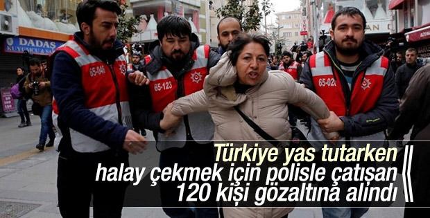 İstanbul'da nevruz gerginliği: 120 gözaltı