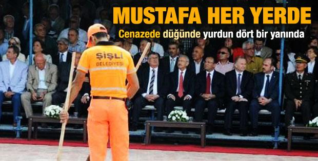 Nevşehir'de anma töreninde temizlik işçi krizi
