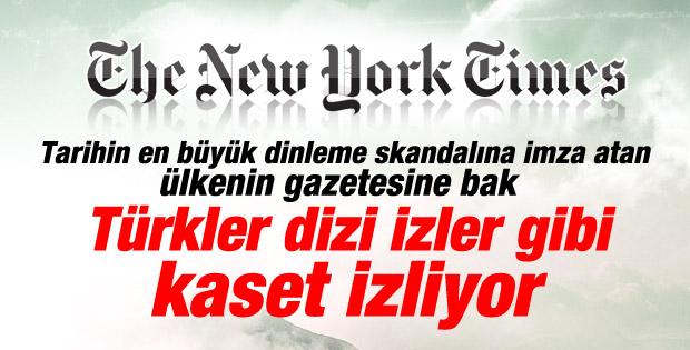 New York Times: Türklerin yeni dizisi yolsuzluklar