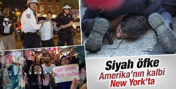 Baltimore protestoları New York'a sıçradı