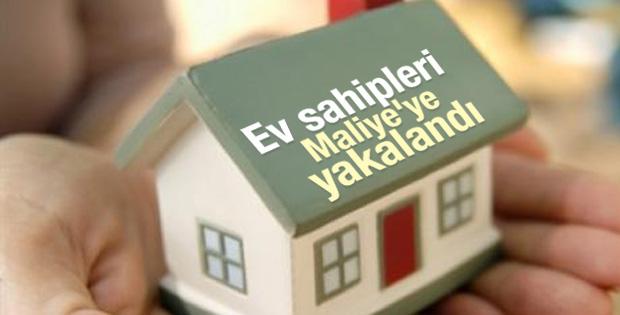 Ev sahipleri Maliye'ye yakalandı