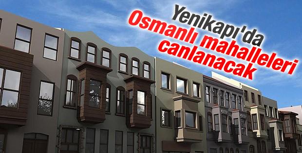 Yenikapı'daki tarihi binalar restore edilecek