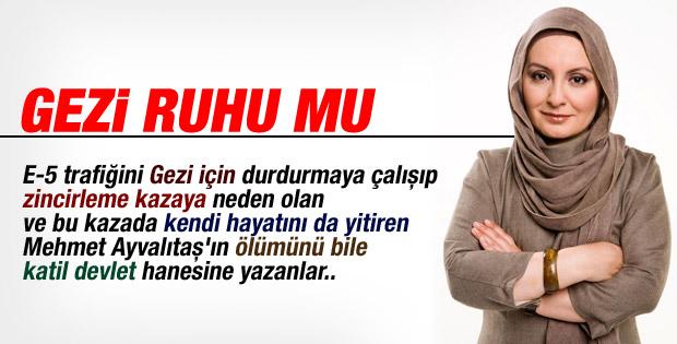 Nihal Bengisu Karaca yazdı: Bu mu Gezi ruhu