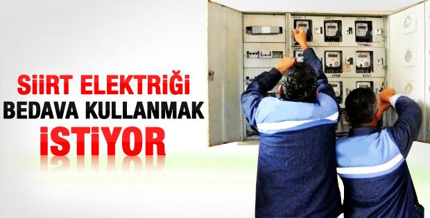 Nihat Özdemir: Siirt'e bedava elektirik verilsin