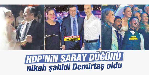 HDP'liler Süreyya Önder'in kızının düğünündeydi