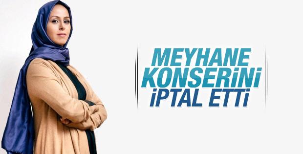 Niran Ünsal meyhane konserini iptal etti