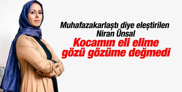 Niran Ünsal Aysha dergisi için türban taktı