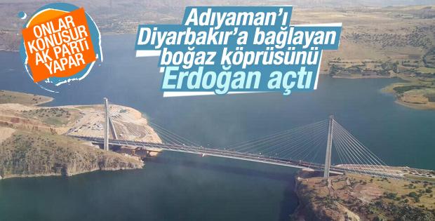 Erdoğan Nissibi Köprüsü'nün açılış töreninde konuştu