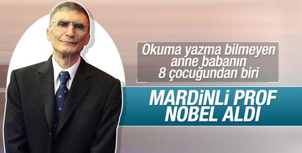 Nobel ödülü bir Türk'e verildi