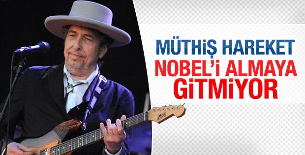 Bob Dylan Nobel törenine gitmeyecek
