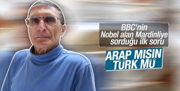 Nobel Ödüllü bilim adamı: Ben Türk'üm o kadar