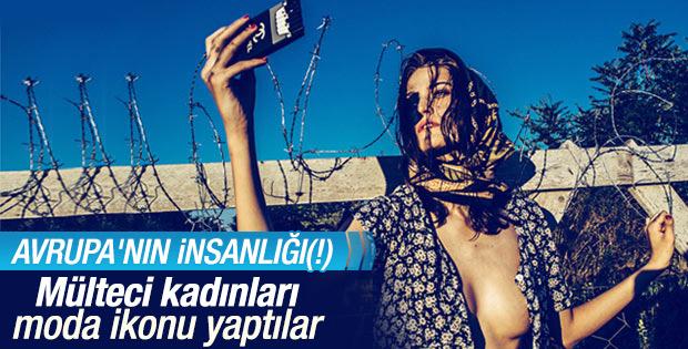 Macarlar Suriyeli kadınları moda ikonu yaptı