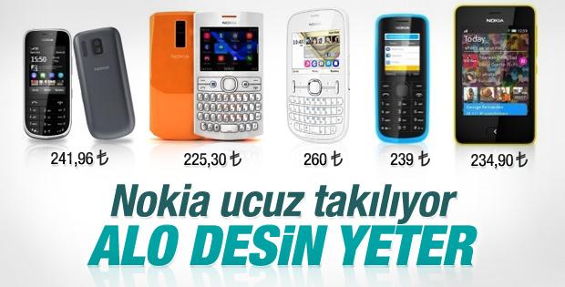 Nokia'nın ucuz telefon geleneği sürüyor