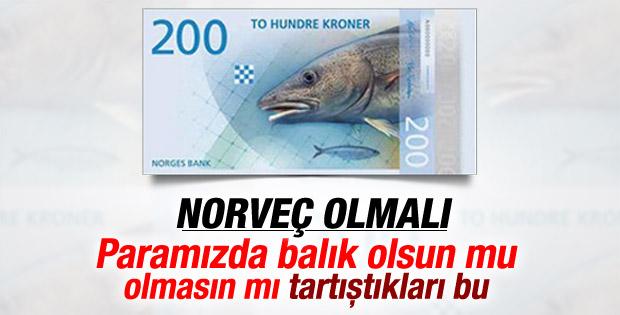 Norveç'in gündemi: Paramızda balık olsun mu