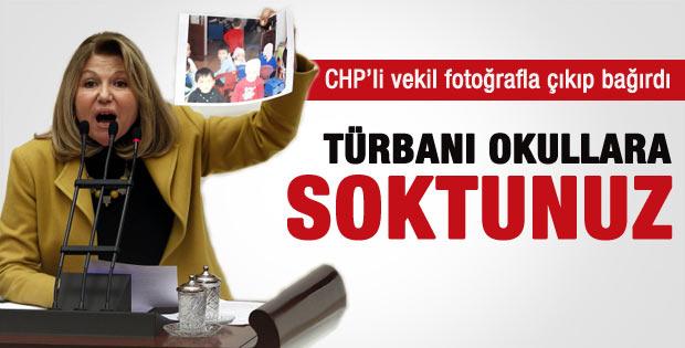 Nur Serter'in türban çıkışı Meclis'i karıştırdı