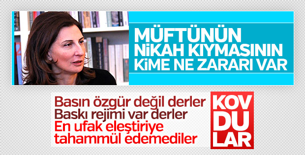 Cumhuriyet Nuray Mert'i kovdu