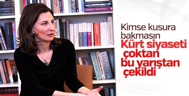 Nuray Mert: Kürt siyaseti yarıştan çekildi