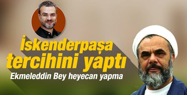 İskenderpaşa Cemaati Erdoğan'a oy verecek