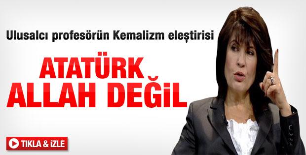 Nurşen Mazıcı'dan Kemalizm eleştirisi - izle