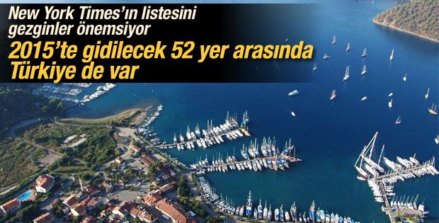 New York Times'ın gezginler listesinde Türkiye de yer aldı