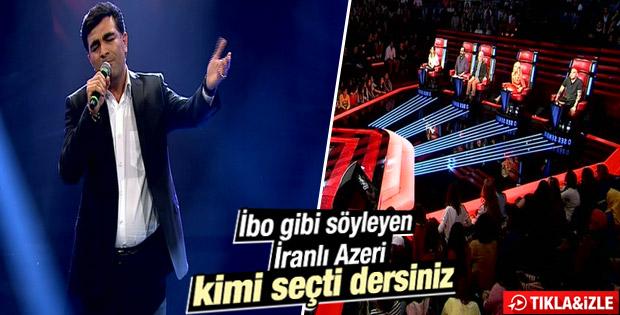 O Ses Türkiye'de Bagiri'den İbrahim Tatlıses şarkısı