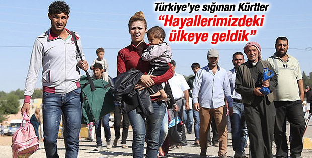 Suriyeli Kürtlerin hayalindeki ülke: Türkiye