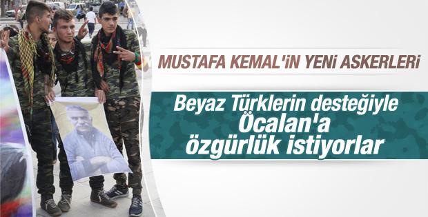 Şanlıurfa'da Öcalan için eylem yaptılar