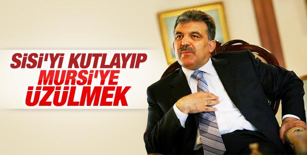 Abdullah Gül Mursi'ye idam kararına tepki gösterdi
