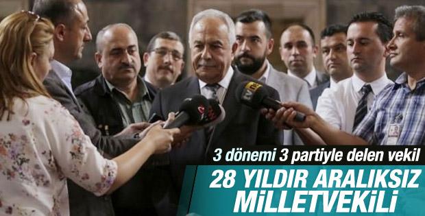 Murat Başesgioğlu 28 yıldır aralıksız Meclis'te