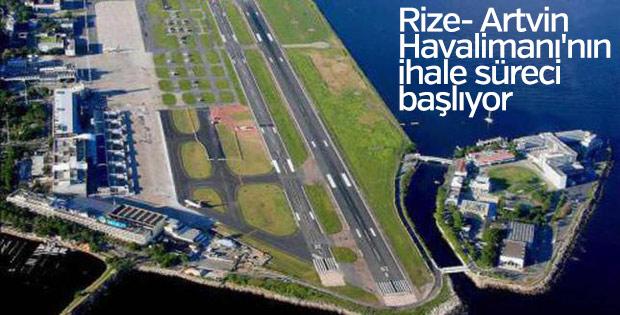 Rize- Artvin Havalimanı'nın ihale süreci başlıyor