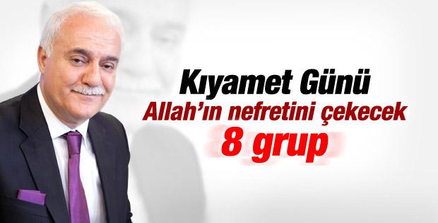 Nihat Hatipoğlu'ndan Kıyamet Günü nefret edilen 8 grup