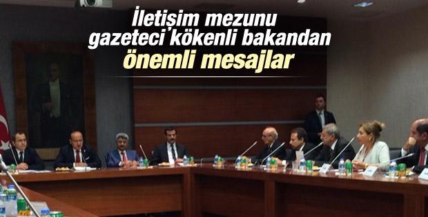 Yalçın Akdoğan: İnternet medyası yasası çıkacak