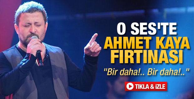 O Ses Türkiye'de Ahmet Kaya fırtınası